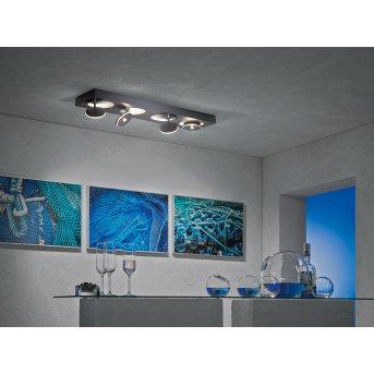 Escale SPOT IT Lámpara de Techo LED Antracita, 4 luces