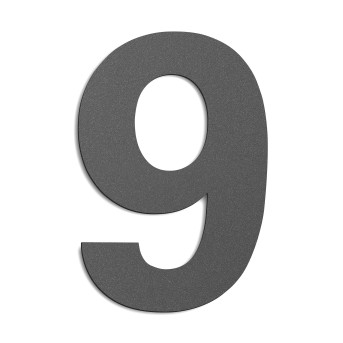 CMD Número de casa Antracita