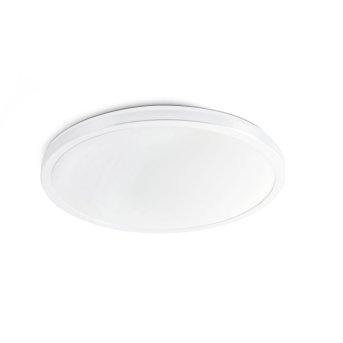 Faro Barcelona Foro Lámpara de Techo Blanca, 1 luz