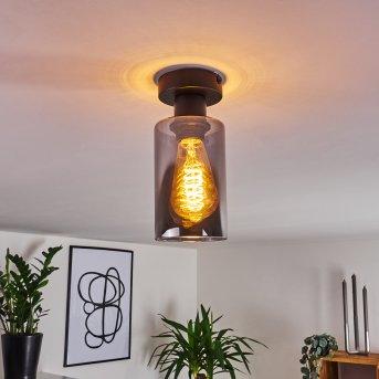 Hunouri Lámpara de Techo Negro, 1 luz