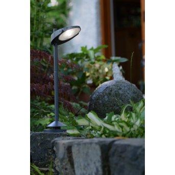 Lutec sun connec Solar STACK Iluminación de camino LED Gris, 3 luces