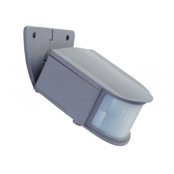 Lutec sun connec Solar GYQ25 Sensor de movimiento LED Gris, Sensor de movimiento