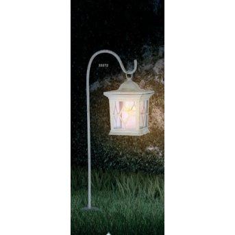 Globo SOLAR Lámpara solar LED Blanca, 1 luz