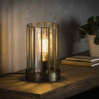 POONHAVEN Lámpara de Mesa Transparente, claro, 1 luz