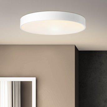 Brillliant Slimline Lámpara de Techo LED Blanca, 1 luz, Mando a distancia
