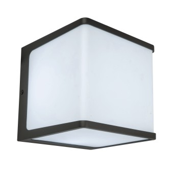 Lutec Doblo Aplique para exterior LED Antracita, 1 luz