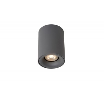 Lucide BENTOO-LED Foco para techo Gris, 1 luz