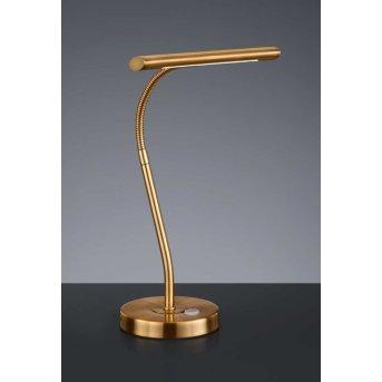 Trio CURTIS Lámpara de mesa LED Latón, 1 luz