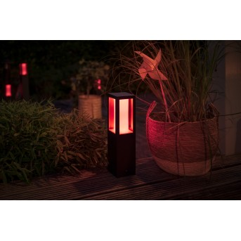 Philips Hue Ambiance White & Color Impress Pedestal, set básico LED Negro, 1 luz, Cambia de color