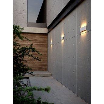Nordlux KINVER Aplique para exterior LED Blanca, 2 luces