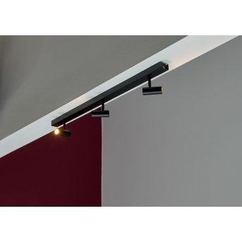Nordlux OMARI Lámpara de Techo LED Negro, 3 luces