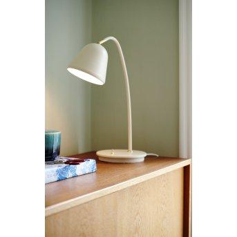 Nordlux FLEUR Lámpara de mesa Beige, 1 luz