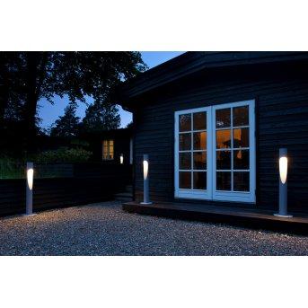 Louis Poulsen Flindt Poste de Jardín LED Aluminio, 1 luz