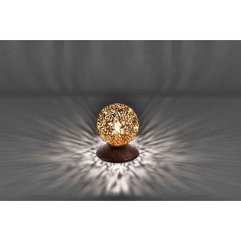 Paul Neuhaus GRETA Lámpara de Mesa Color óxido, 1 luz