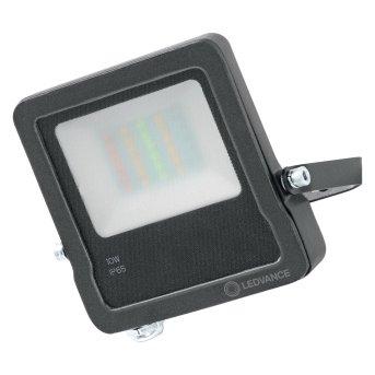 LEDVANCE SMART+ Foco proyector jardin Gris, 1 luz, Cambia de color