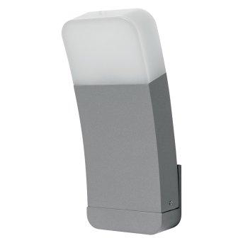 LEDVANCE CURVE Aplique para exterior Plata, 1 luz, Cambia de color