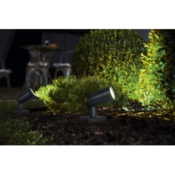 LEDVANCE GARDEN SPOT Aplique para exterior Gris, 1 luz, Cambia de color