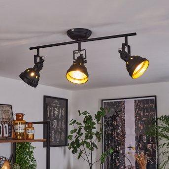 Tita Lámpara de Techo Negro, 3 luces