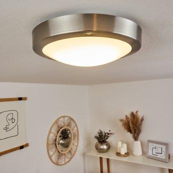 Alleen Lámpara de techo para exterior LED Níquel-mate, 3 luces