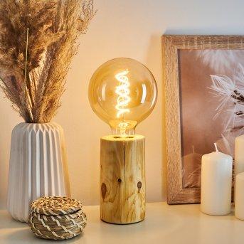 Canedo Lámpara de mesa Marrón, 1 luz