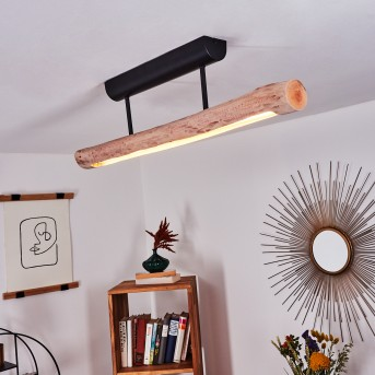 Winterthur Lámpara de Techo LED Negro, 1 luz