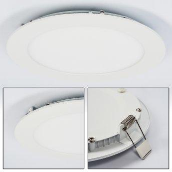 Finsrud Lámpara empotrable LED Blanca, 1 luz