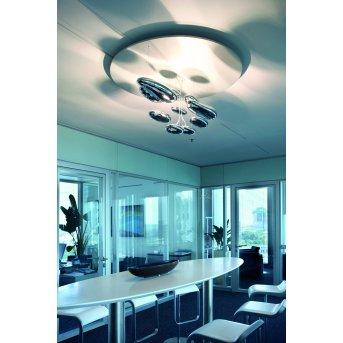 Artemide Mercury Lámpara de Techo LED Cromo, 1 luz
