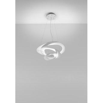 Artemide Pirce Mini Lámpara Colgante LED Blanca, 1 luz