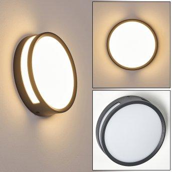 Chiavari Aplique para exterior LED Antracita, 1 luz