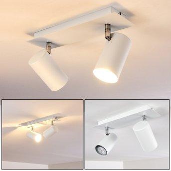 Lámpara de Techo Zuoz Blanca, 2 luces