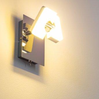 Turin Aplique LED Cromo, 1 luz