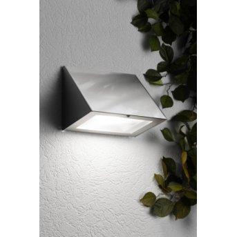 Cmd Aqua Peso Aplique LED Acero inoxidable, 1 luz