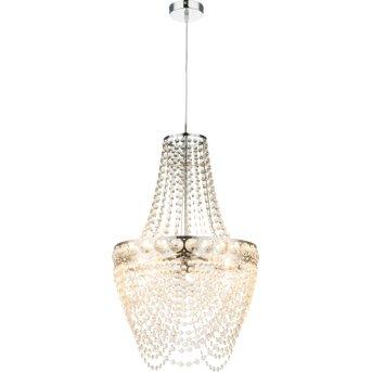 Globo STROMBOLI Lámpara de araña Transparente, Cromo, 3 luces