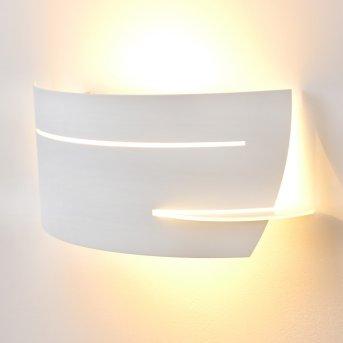 Novara Aplique Blanca, 1 luz