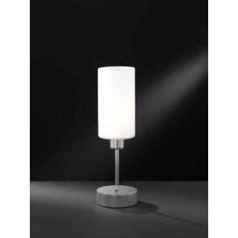 Wofi LOFT Lámpara de mesa Níquel-mate, 1 luz