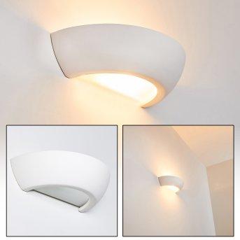 Garbagna Aplique Blanca, 1 luz