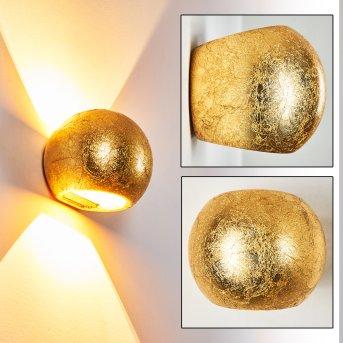 Flot Aplique dorado, 1 luz