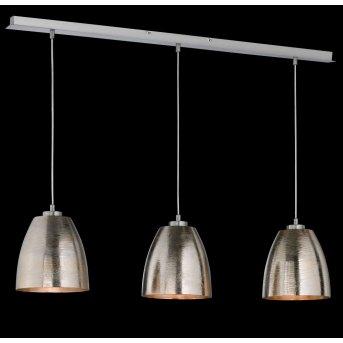 Honsel SHINE Lámpara Colgante Níquel-mate, 3 luces
