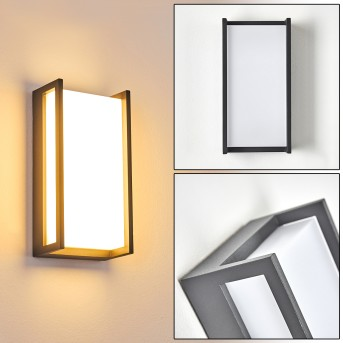 Skove Aplique para exterior LED Antracita, 1 luz