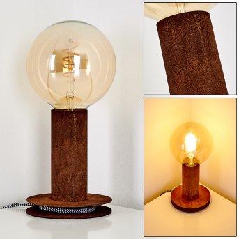 Kimstad Lámpara de Mesa Color óxido, 1 luz