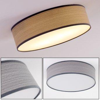 Chazy Lámpara de Techo Blanca, 2 luces