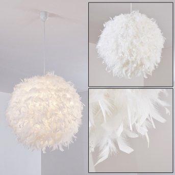 Skaulo Lámpara Colgante Blanca, 1 luz