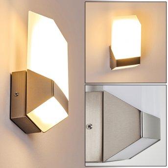 Aplique para exterior Clear LED Níquel-mate, 1 luz