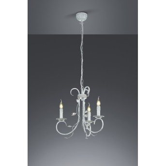 Trio-Leuchten Classy Lámpara Colgante Gris, 3 luces