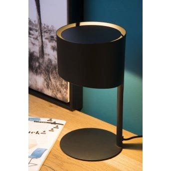 Lucide KNULLE Lámpara de escritorio Negro, 1 luz