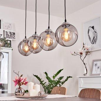Schnabek Lámpara Colgante Cromo, 4 luces