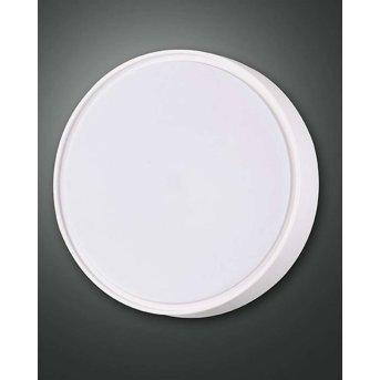 Fabas Luce HATTON Lámpara de techo para exterior LED Blanca, Sensor de movimiento