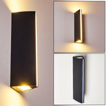 Aplique para exterior Rotterdamm LED Negro, 1 luz