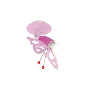Elobra FALTER Foco Rosa, 1 luz