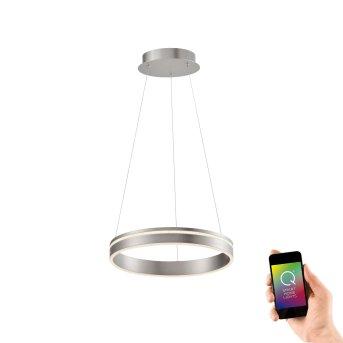Paul Neuhaus Q-VITO Lámpara Colgante LED Acero inoxidable, 1 luz, Mando a distancia